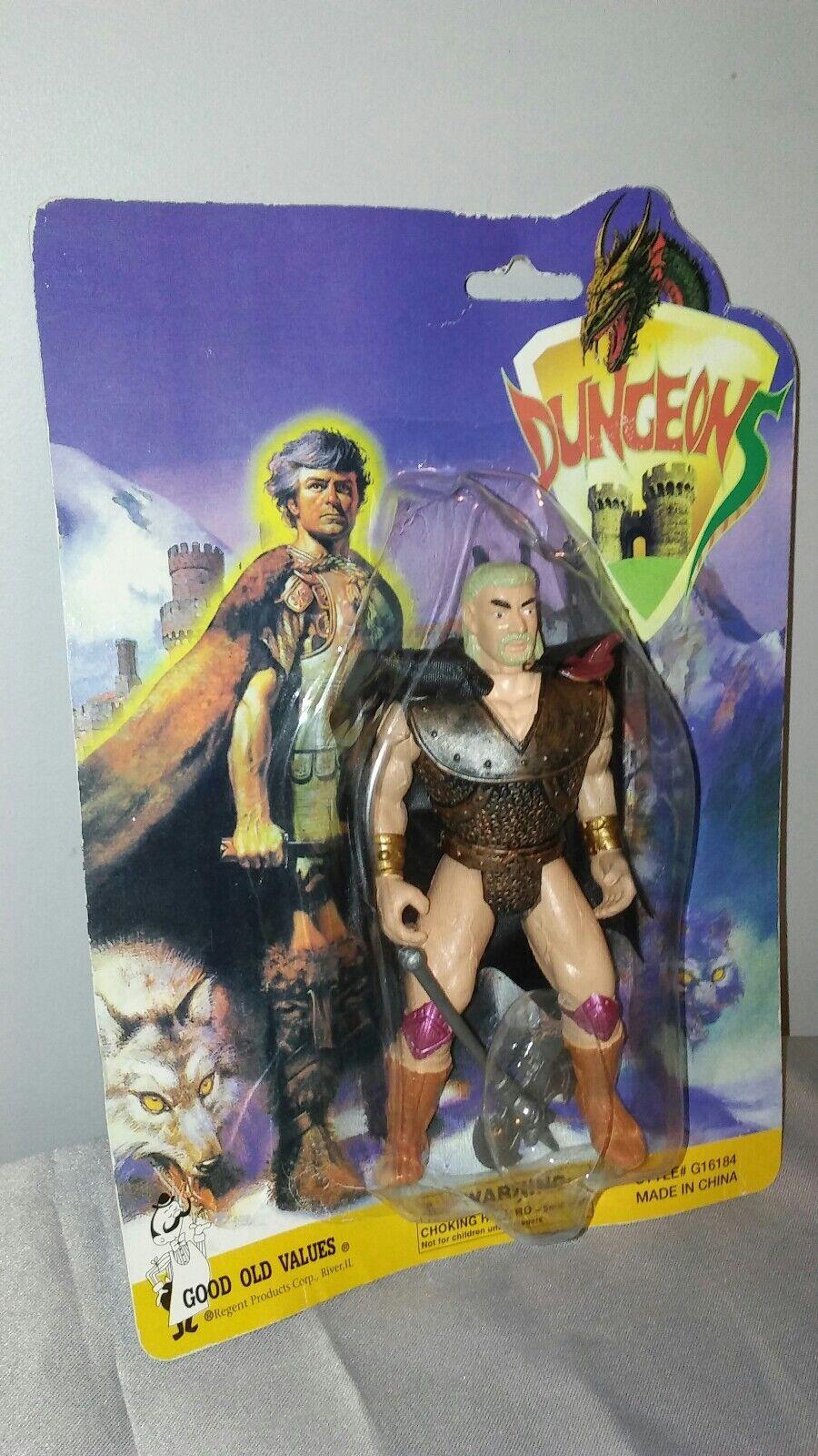 Vintage dungeons dungeons dungeons Ko Figure Motu He man Galaxy Warrior wrestler Moc figure rare 8ec1e4