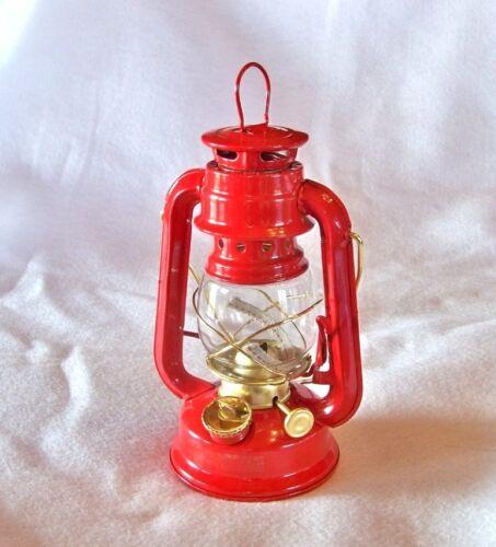 environ 20.32 cm lampe pétrole lanterne suspension à pétrole rustique CPM 1227 Gold Red Hurricane 8 in