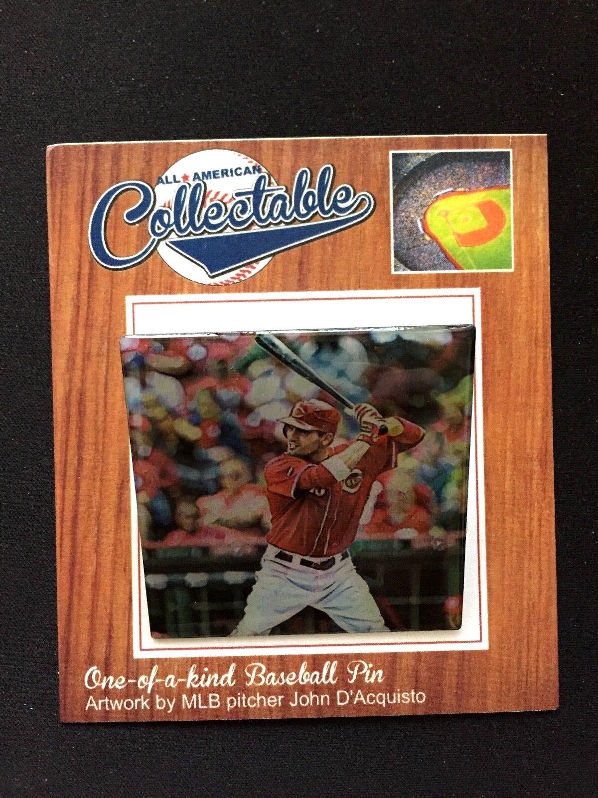 Cincinnati rots Joey Votto Trikot Trikot Trikot Revers Pin-Collectable Memories-2 Classics d0e1e2