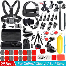 Accessories Pack Case Head Chest Monopod Bike Surf Mount for GoPro Hero6 7 5 4 3