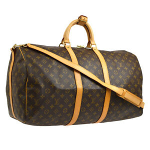 510cfbc031d0 Image is loading AUTHENTIC-LOUIS-VUITTON-KEEPALL-55-BANDOULIERE-TRAVEL-HAND-