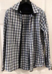 c9105d65 Details about Van Heusen Men's Long Sleeve Button down 100% Cotton Shirt  Size L?G 16-16 1/2
