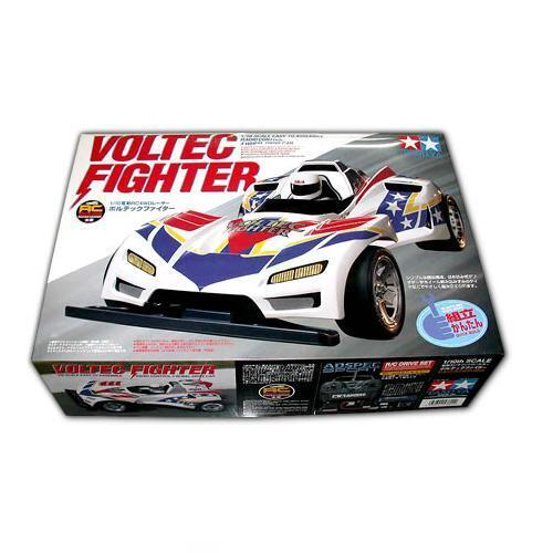 TAMIYA VOLTEC FIGHTER (57602) Scala 1 10 radiocomandata kit facile da costruire