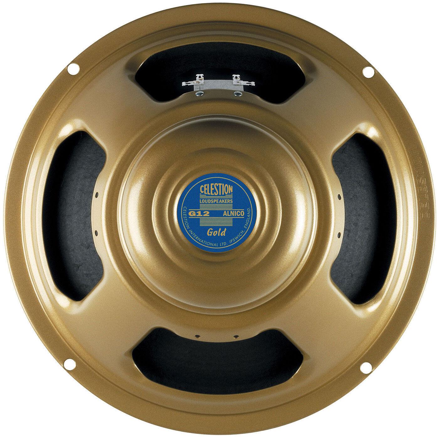 Celestion G12 gold 12  8 Ohm Alnico Guitar Speaker 50W