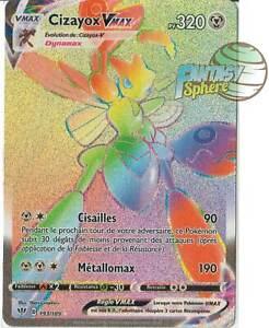 Pokemon-193-189-Cizayox-Vmax-Secret-Rare-EB03-Epee-Bouclier-3-VF-Francais
