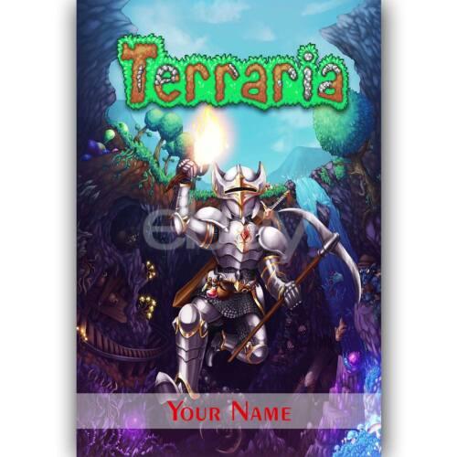 Custom Terraria Silk Poster Wall Decor Terraria