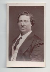 Vintage-CDV-Henry-Sinclair-English-Actor-1860-039-s