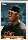 1993 Topps Steve Hosey 653 Baseball Card