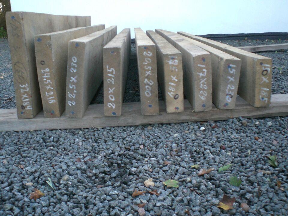 Trædrejning, Egeplanker