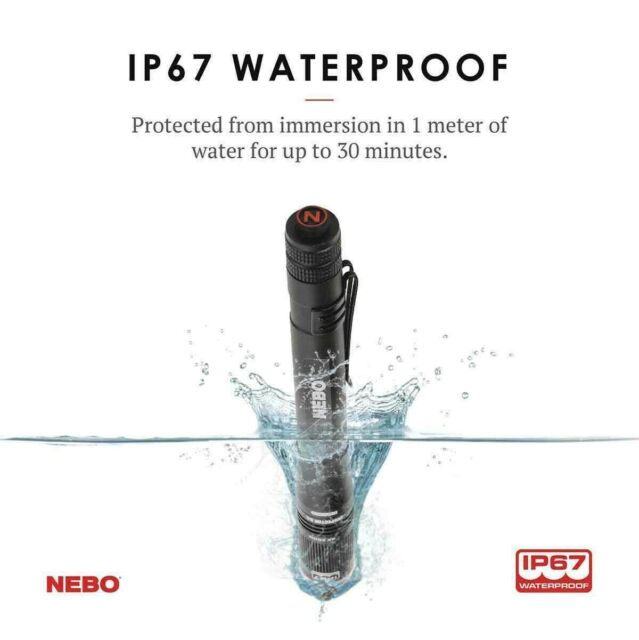 NEBO Inspector Penlight Everyday Carry IP67 Waterproof