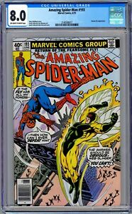 Amazing Spider-Man #193 CGC 8.0 (June 1979, Marvel) Human Fly Appearance.