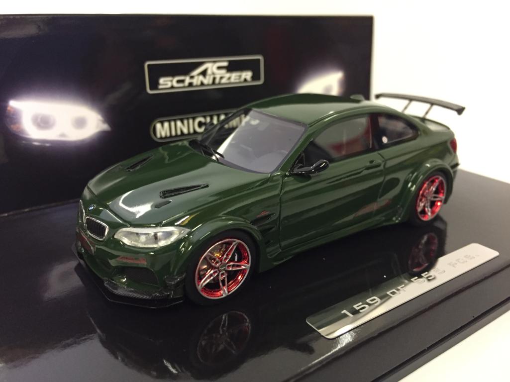 Bienvenue dans la nouvelle boutique en trois étapes étapes étapes pour célébrer les quatre auspicieux MINICHAMPS 437026020 BMW AC Schmitzer L2 2016 vert 1:43 echelle   De Qualité  fdcfdf