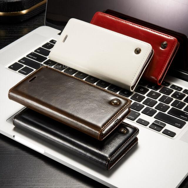 Huawei GX8 Case Etui Magnet Tasche mit Kartenfach Cover Leder Synthetisch Folien