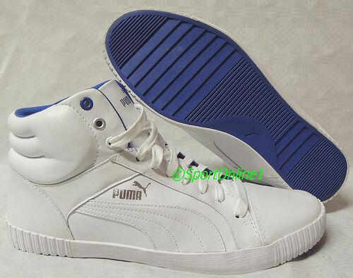 NEU Puma Street Jump Men Größe 45 Leder Schuhe Boots Sneaker 352503-01 TOP