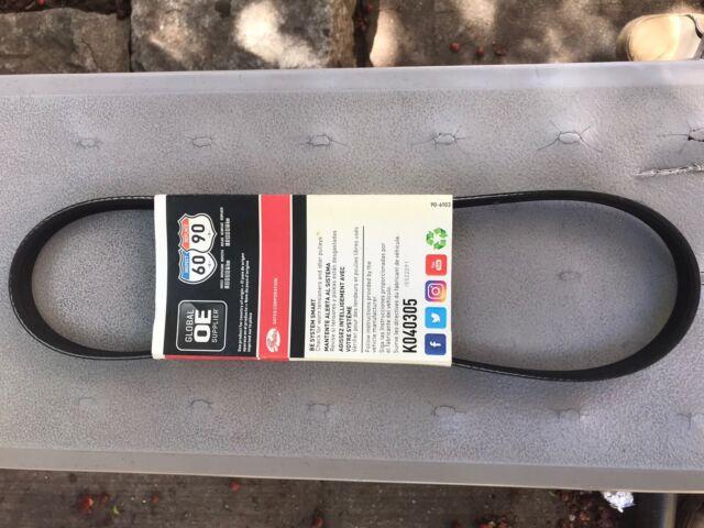 Gates K040310RPM RPM High Performance Micro-V Serpentine Drive Belt