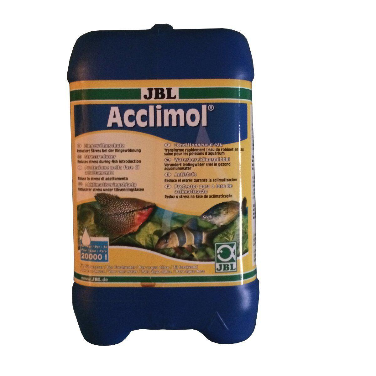 JBL Acclimol 5000 reduziert Stress in caso di Eingewöhnung Nuovo Pesci