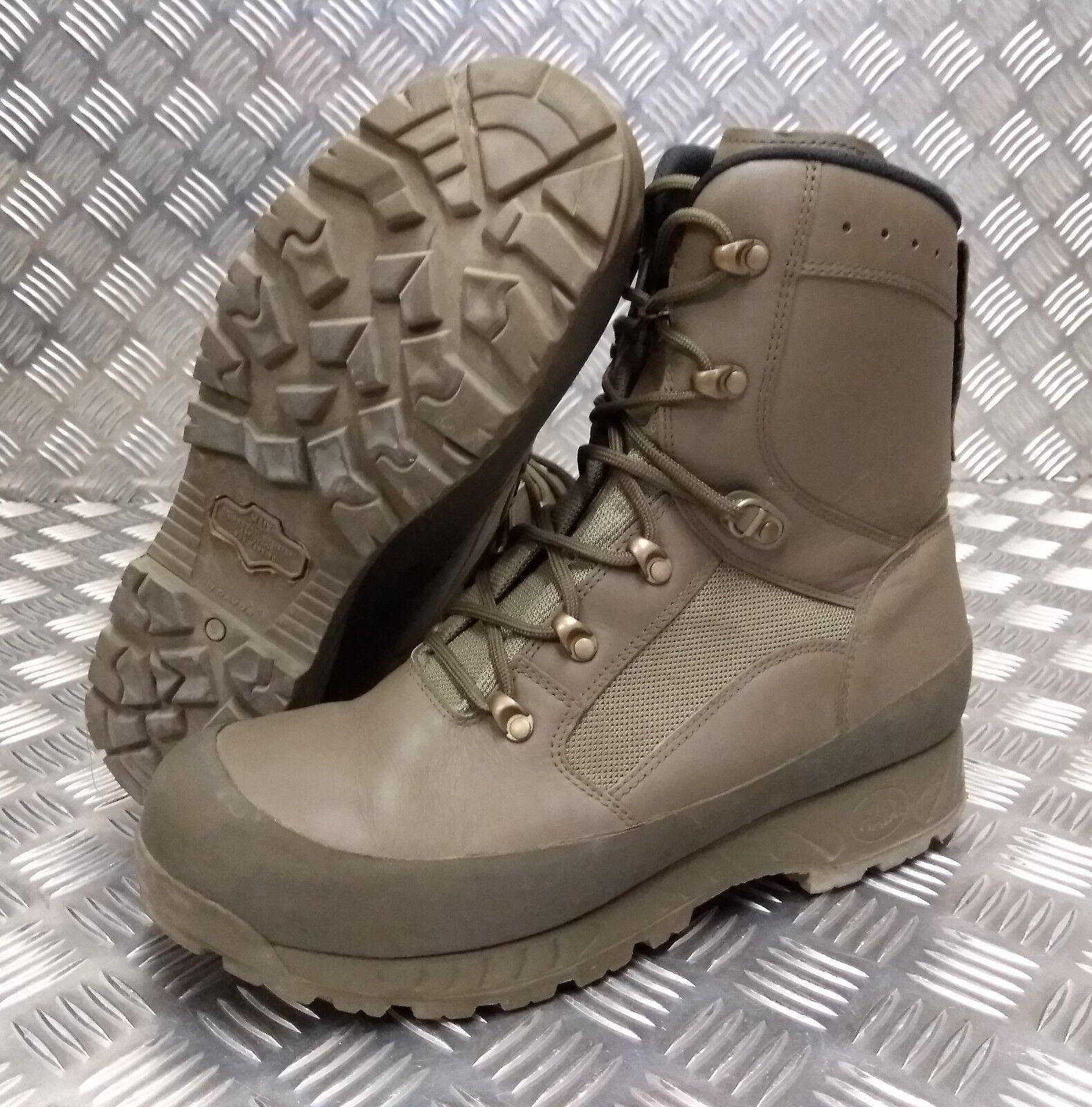 Genuine British Trial Army Haix Desert Combat Leather Assault / Patrol Combat Desert Boots SL 363ed5