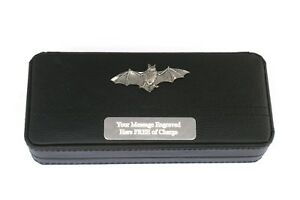 Batman Black Ball Point Pens In Gift Case FREE ENGRAVING Wildlife Gift ewVxTnqO-09085113-714274351