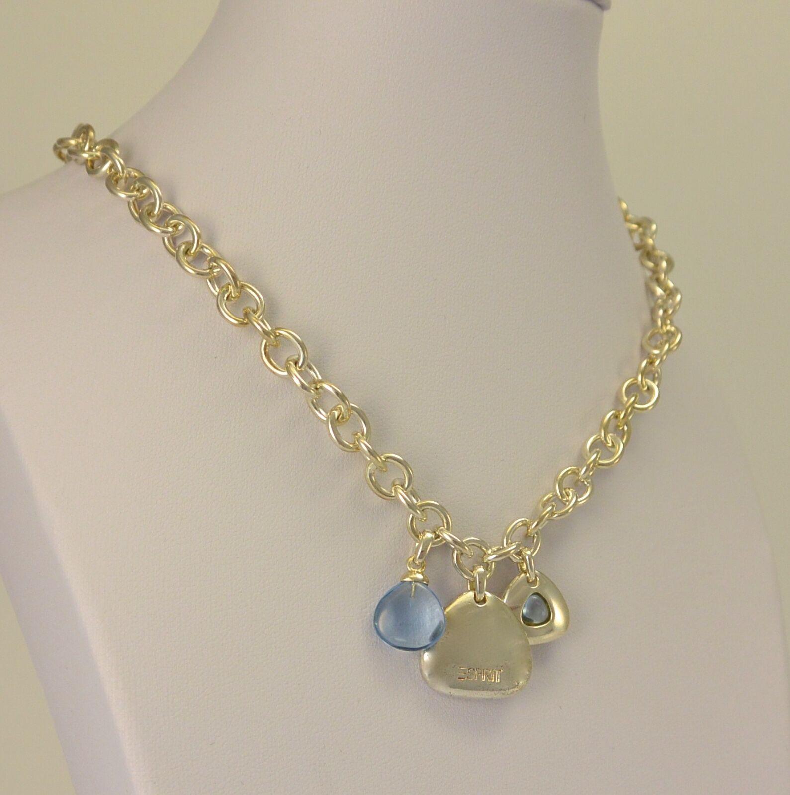 Schöne Esprit Halskette 925 silver mit Anhänger, Collier