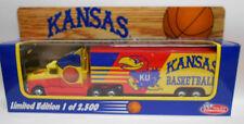 Kansas KU Jayhawks Basketball Collectible Semi Truck 1:80 scale