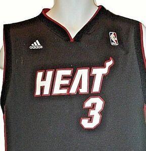 Dwayne Wade Vintage Miami #3 Heat XL NBA Jersey Adidas