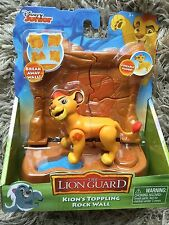 The Lion Guard Figure and Accessory Set - Kion's Toppling Rock Wall Disney uk