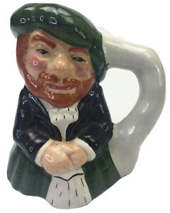 Vintage The Scotsman Artone England Hand Painted Character Toby Jug