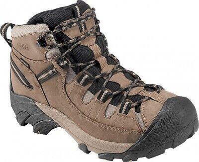Keen Men's Targhee Mid II  Waterproof Hiking Boots Shitake/Brindle