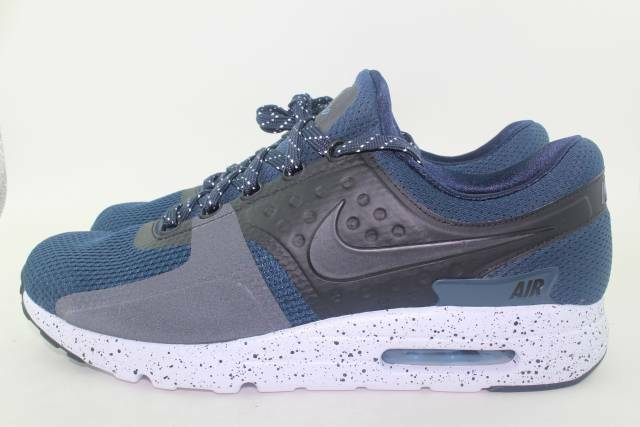 super popular 78975 11849 Nike Air Max Zero Premium Mens 881982-400 Armory Navy Running Shoes Size 12