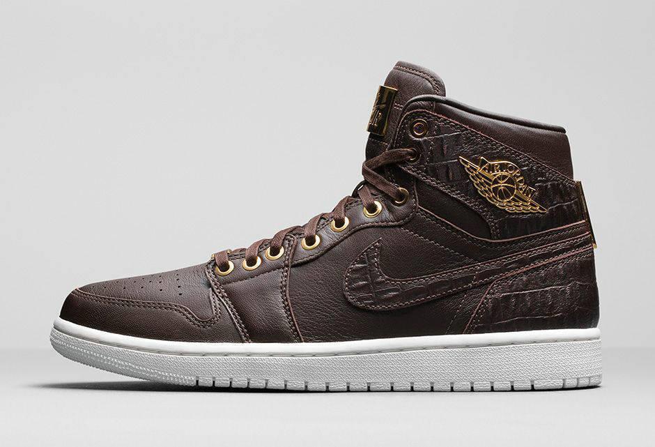 Nike Air Jordan 1 Pinnacle Baroque Brown Metallic Gold 705075-205 Men's Sz 10.5
