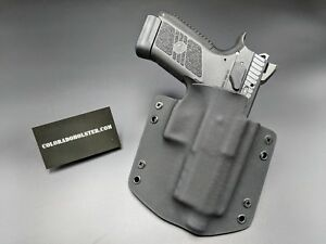 Details about OWB Kydex CCW holsters - Fits CZ P-07 P07 with/without  threaded barrel