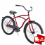 miniature 11 - Huffy 26 Cranbrook Mens Cruiser Bike with Perfect Fit Frame Coaster Brakes