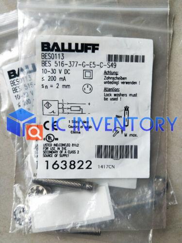 Brand New BALLUFF BES Capteur 516-377-G-E5-C-S49