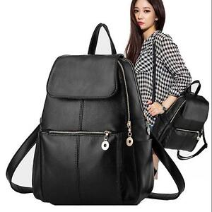 Fashion-Women-Girls-Ladies-Backpack-Travel-Shoulder-Bag-Rucksack-PU-Leather-Bags