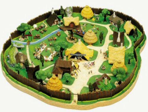 arbres Atlas PLASTOY figure Le VILLAGE d/'ASTERIX n° 40 lot figurines écoliers