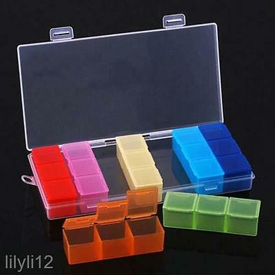 Weekly 7 Days Pill Box Medicine Medical Drug Case Caddy Storage Organiser Holder