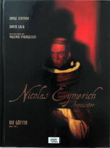 """NICOLAS EYMERICH INQUISITOR Band 1 /""""Die Göttin Teil 1/"""" Ehapa"""