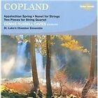 Aaron Copland - Copland: Appalachian Spring; Nonet for Strings; Two Pieces for String Quartet (2009)
