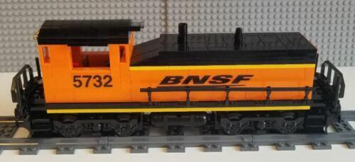 Lego Train Custom BNSF Switcher Please Read Item Description