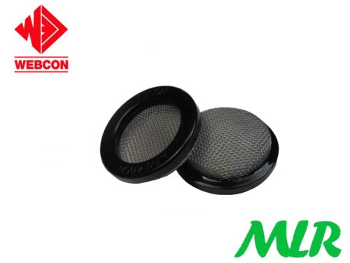 WEBCON 63MM TRUMPET AIR HORN MESH FILTERS FOR 45DCOE /& THROTTLE BODIES BSH