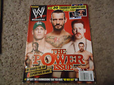 WWE Wrestling Magazine June 2012 - The Power Issue - Cena & Others