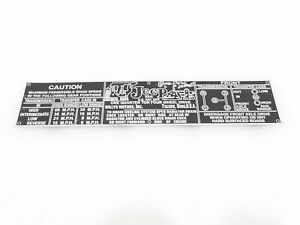 WILLYS-JEEP-ALUMINIUM-TRANSFER-CASE-INFORMATION-PLATE-G349