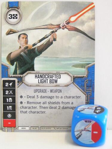 Star Wars Destiny blue Spirit of Rebe 1x #039 Handcrafted Light Bow Dice