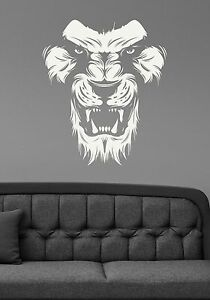Safari Lion Wall Decal