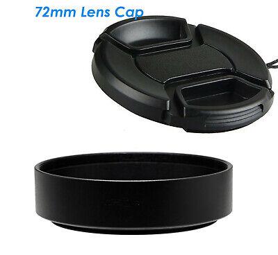 58mm Screw-in Lens Hood Fotasy Metal 58mm Lens Hood 58mm Lens Hood for Canon Fuji Leica Leitz Nikon Olympus Panasonic Pentax Sony Lens