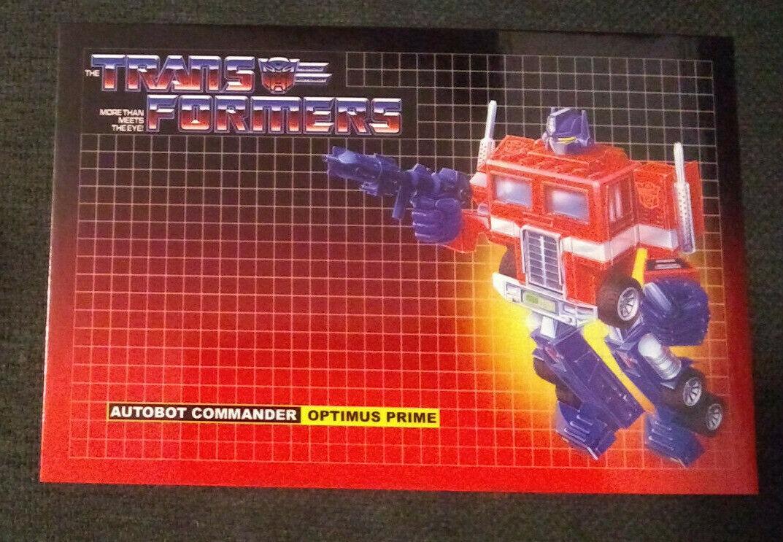 Optimus Prime Transformers A4  Watercolour  6 INDIVIDUAL PRINTS A4