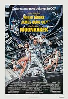 James Bond: Moonraker Roger Moore Usa Movie Poster 1979