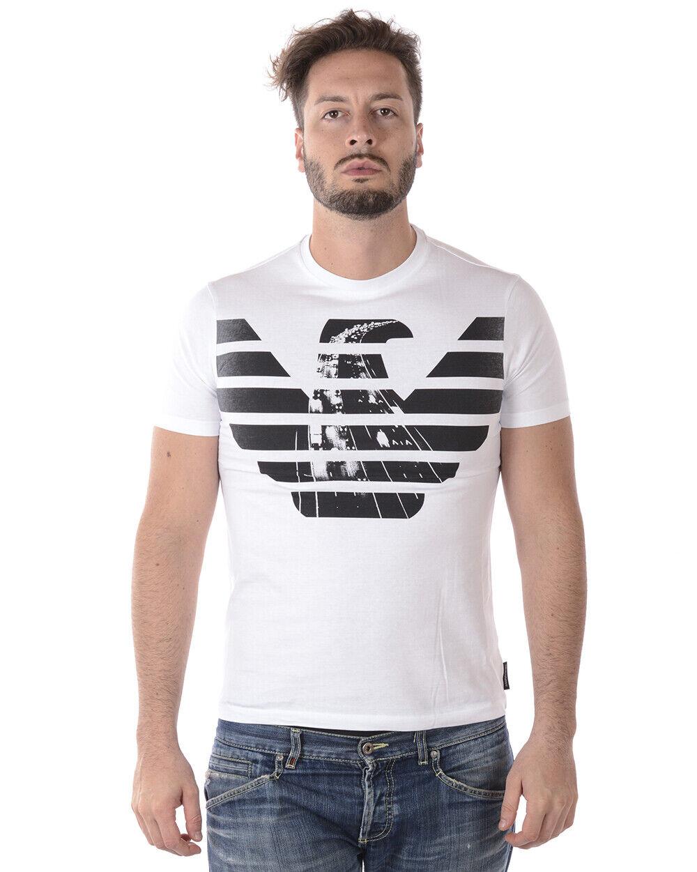 Emporio Armani T hemd schweißhemd Man Weiß 6Z1TE81J19Z 102 Sz.XL MAKE OFFER