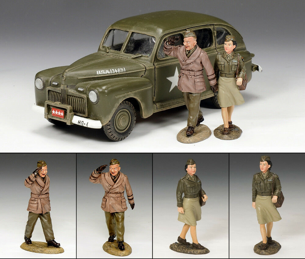 KING AND COUNTRY The Eisenhower Staff Car Set WW2 DD154(SL)