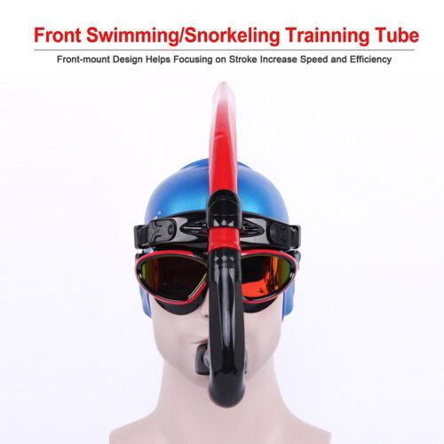 Professional Swimmer/'s Snorkel Center Mount Design Swimming Training Adult Teens